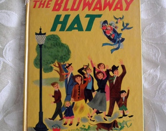 The BlowAway Hat By Leone Adelson 1946 Children's Book