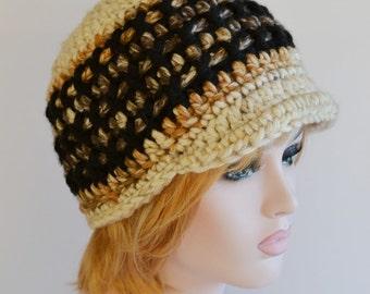 Valentines Day,Super Chunky Newsboy Hat, Baker Boy Hat, Womens Peaked Hat, Uk Winter Hat,