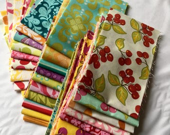 Farmers Market RARE Out of Print Fabric Cuts Sandi Henderson Eighth Yard Quilting Sewing piecesofpine