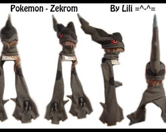 Pokemon Hat and/or Scarf - Zekrom
