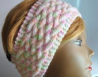 Extra Wide,Warm and Wonderful Knit Acrylic Confetti Yarn Ear Warmer Headband