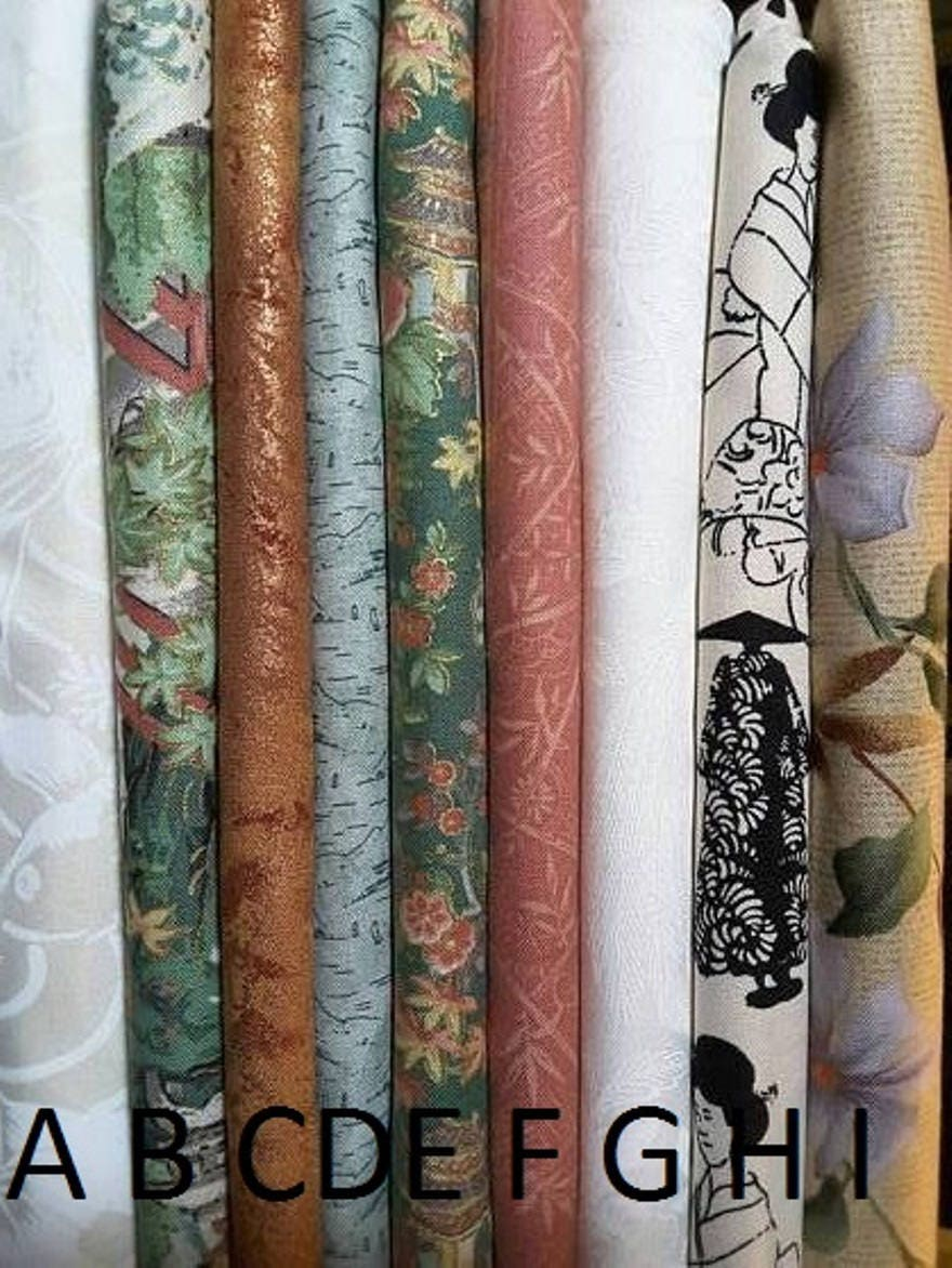 Asian Fat Quarters 40