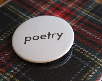 Poetry Pin