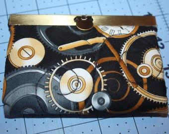 Steampunk Gears Card Holder