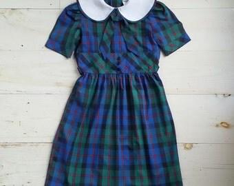 Vintage Alyssa Plaid Dress