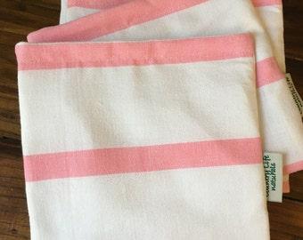 Pink Stripe Sandwich/Snack Bag