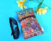 Laurel Burch Design in a Roomy Sunglasses Case