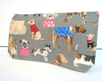Coupon Organizer Cash Budget Organizer Holder- Attaches to your Shopping Cart Multi Dogs Dog Lovers
