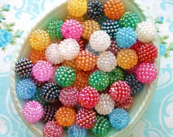 Berry Beads - Gumball Mix - 15mm - Set of 20