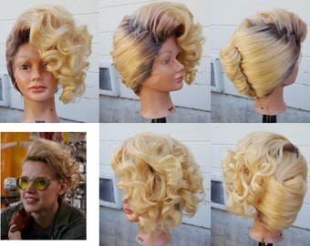 SAMPLE SALE Holtzmann wig Ghostbusters 2016 cosplay costume accessory