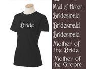 Lot Wedding Iron On Shirt Transfers