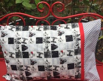 STAR WARS Standard Pillowcase (1 each) handmade standard pillowcase - star wars gift bag jumbo pillow sham