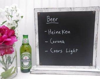 Business sign, restaurant, bar, boutique, shop, store, counter top announcement, menu stand, menu sign, vinyl display liquid chalk marker