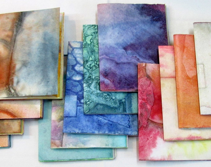 Refill inserts for Junk journal Collage Paper pack Mini Notebook Wabi Sabi Purse Size Jotter smash scrap journal