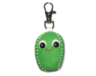 Cactus Charm - Cactus Keychain - Plush Cactus - Cactus Charms - Bag Charm - Plant Lover - Succulent Gift - Mothers Day Gift