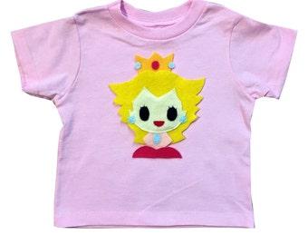Peach - Kids Light Pink T-Shirt - Children's Clothing - Gift
