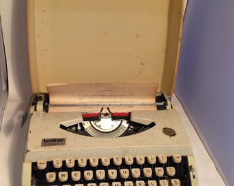 Brother Charger Typewriter