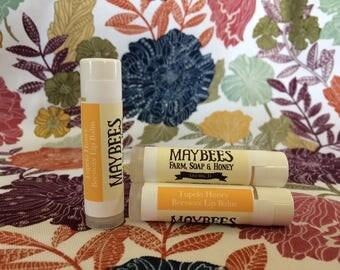 Tupelo Honey Flavored Beeswax Lip Balm