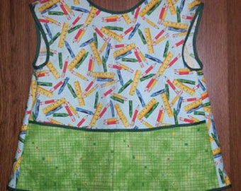 Childs Creative Crayon Apron Smock