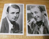 1940s Movie Star Post Cards, Hollywood, Handsome Men