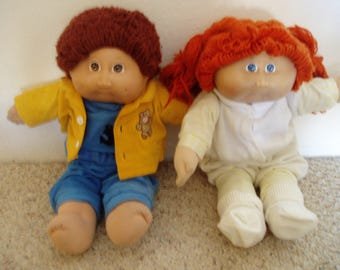 Boy and Girl Cabbage Patch Kids