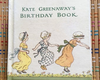 Kate Greenaway's Birthday Book, 1972:  Beautiful Condition, Blank!  R