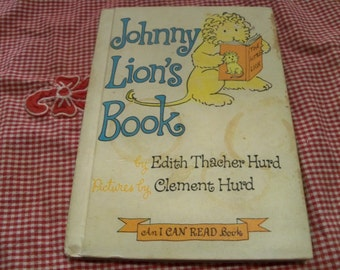 johnny lions book 1965 hard cover  children's book