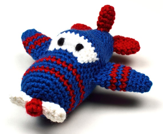Ari the Airplane - PDF Crochet Pattern - Instant Download