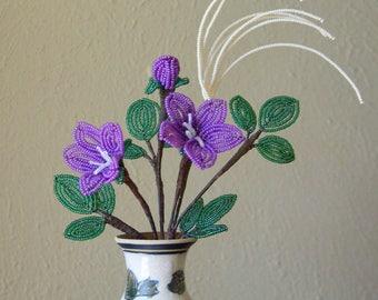Purple Balloon Flower Arrangement