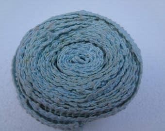 Vintage Crocheted Yardage Trim / Boho Trim