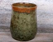 Kitchen Cooking Utensil Holder. Utensil Crock. Utensil Organizer. Handmade Pottery. Hurricane Pottery