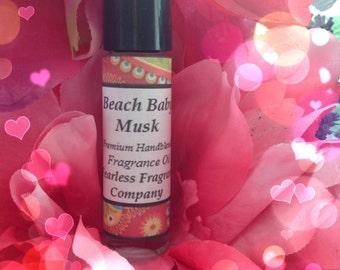 Beach Baby Musk Fragrance Oil for Women w/ a Wee touch of Pheromone Oil 1/3 oz Flirty fun