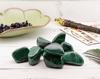Polished Malachite Tumbled - Stone of Transformation
