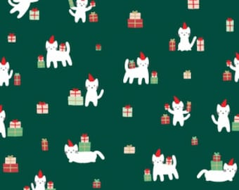 Dear Stella - Christmas Darlings Collection - Meowy Christmas in Fir