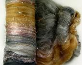 Shells Textural Art Batt for spinning and felting (3.3 ounces), batt, art batt