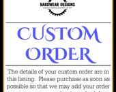 Custom Order for MTWILDFIRES