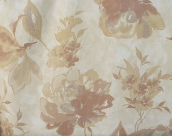 Pillow Cover - Floral - Abstract Floral - Brown - Gray - khaki - Camble Natural Print - Accent - Cushion Cover