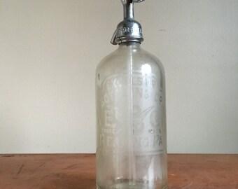 Antique Excelsior Bottling Co Seltzer Bottle. Reading, PA