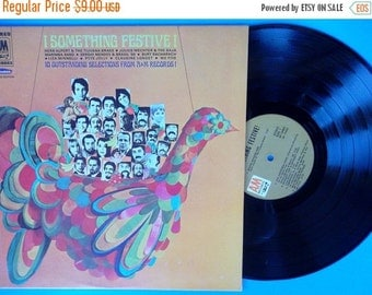 ON SALE Vintage Something Festive By A&M Records Limited Edition Sp 19003 1968