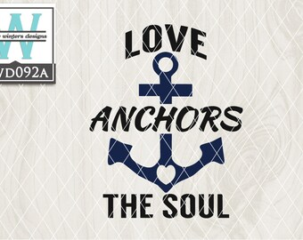 SVG Nautical Themed Cutting File kwd092a dxf svg eps png