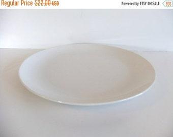 Christmas Sale Vintage White Platter