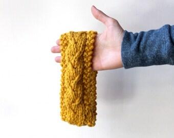 Custom Knit Headband, Knitted Head Band, Ear Warmer Headband, Fashion Earwarmer, Winter Headband, Ear Cozy, Cozy Headband, Warm Headband