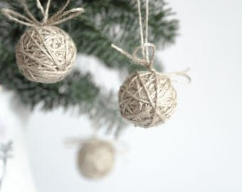 Christmas tree decoration lavender ornament heart ornament