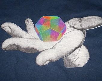 T-Shirt - Universal Potential (Rainbow on Navy)