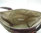 """Custom tote bag 19.5"""" x 12""""x 5"""" 2 laptop sleeves"""
