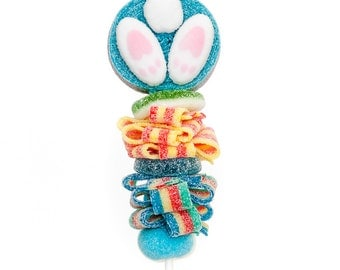 Mini Easter Candy Kabobs - 10