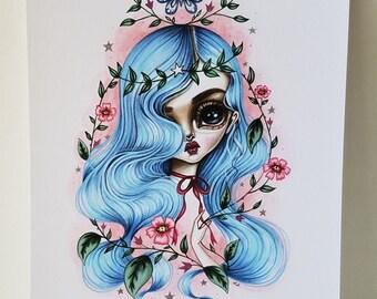 Cassandra 8x10 Art Print