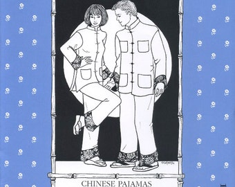 Chinese Pajamas, Folkwear Pattern 145