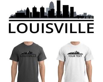 Louisville shirt etsy for Custom t shirts lexington ky