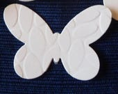 Small Butterfly Tags, Earring Cards, Gift Tags, Embossed, Plain, Vanilla, Kraft or White Card Stock by by Stampin' Up!  12 +